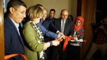 Basrah Museum's first gallery is officially opened by Maysoon Al-Damluji MP, Cultural Group Leader, Iraqi Parliament - September 2016