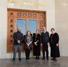 FOBM Training Programme Team - Ali Khadr, Joan Porter MacIver, Ulrike Al Khamis, Paul Collins & Noorah Al-Gailani
